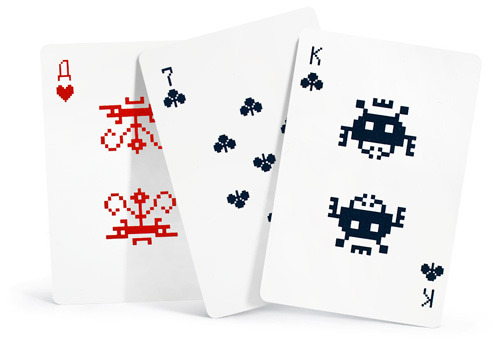 cartes space invaders