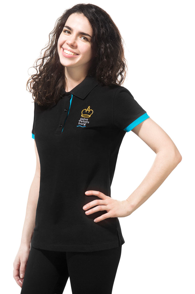Saint Petersburg Logo Polo Shirt (Women)