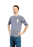 Saint Petersburg Logo Striped Shirt