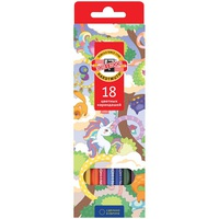 Koh-i-Noor pencils, 18 colors