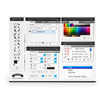 Photoshop Magnet Set